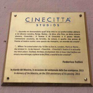 Cinecittà Fellini