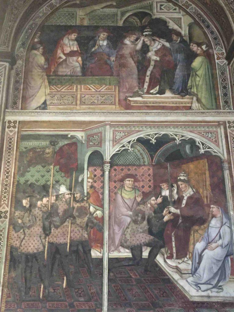 Palazzo Pubblico Siena - Sala di Balia