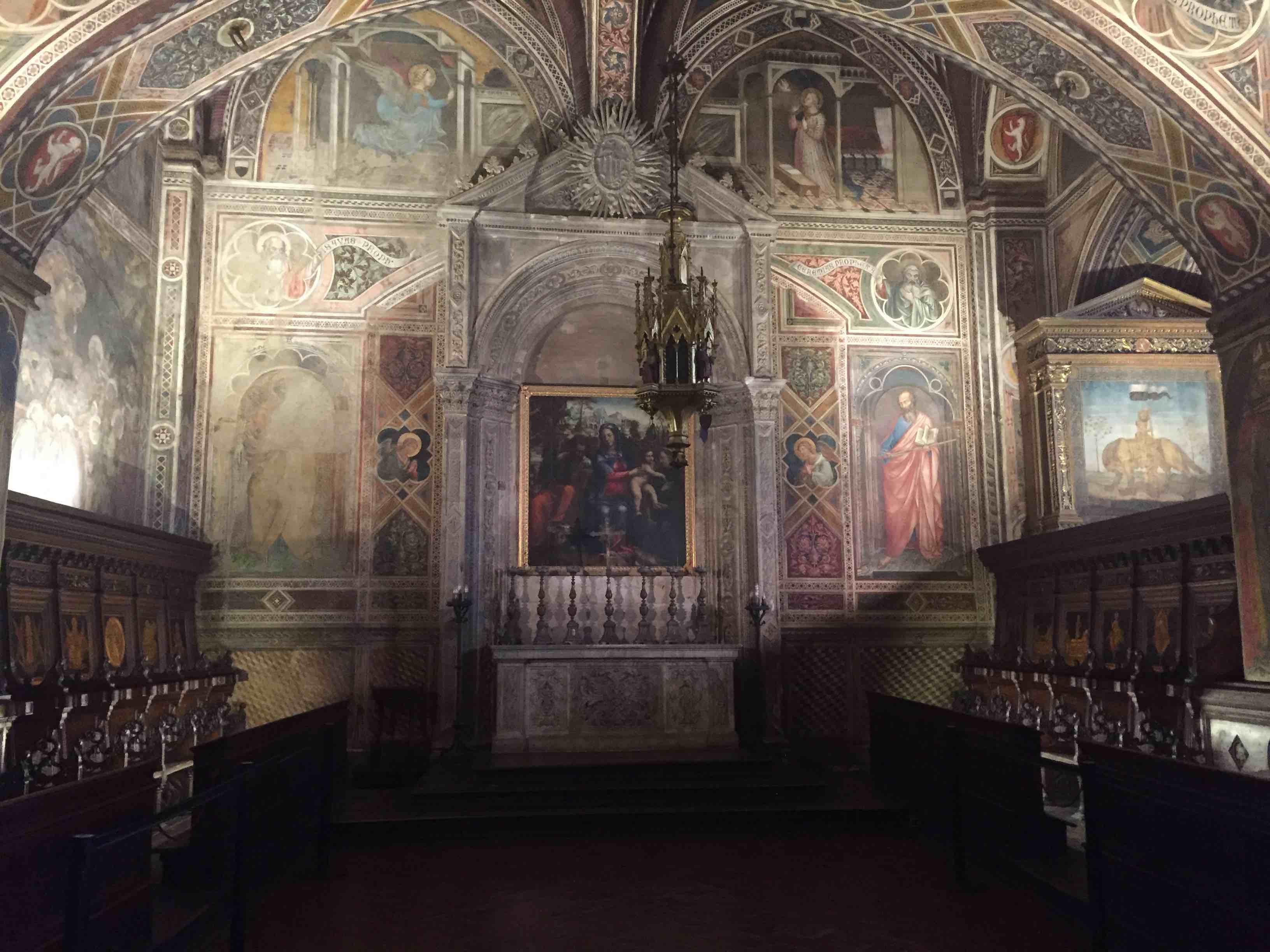 Palazzo Pubblico Siena - Cappella