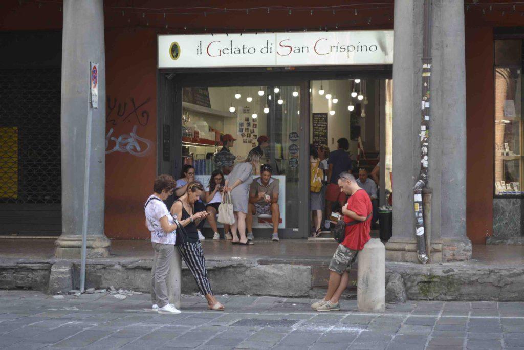 Bologna Gelateria San Crispino