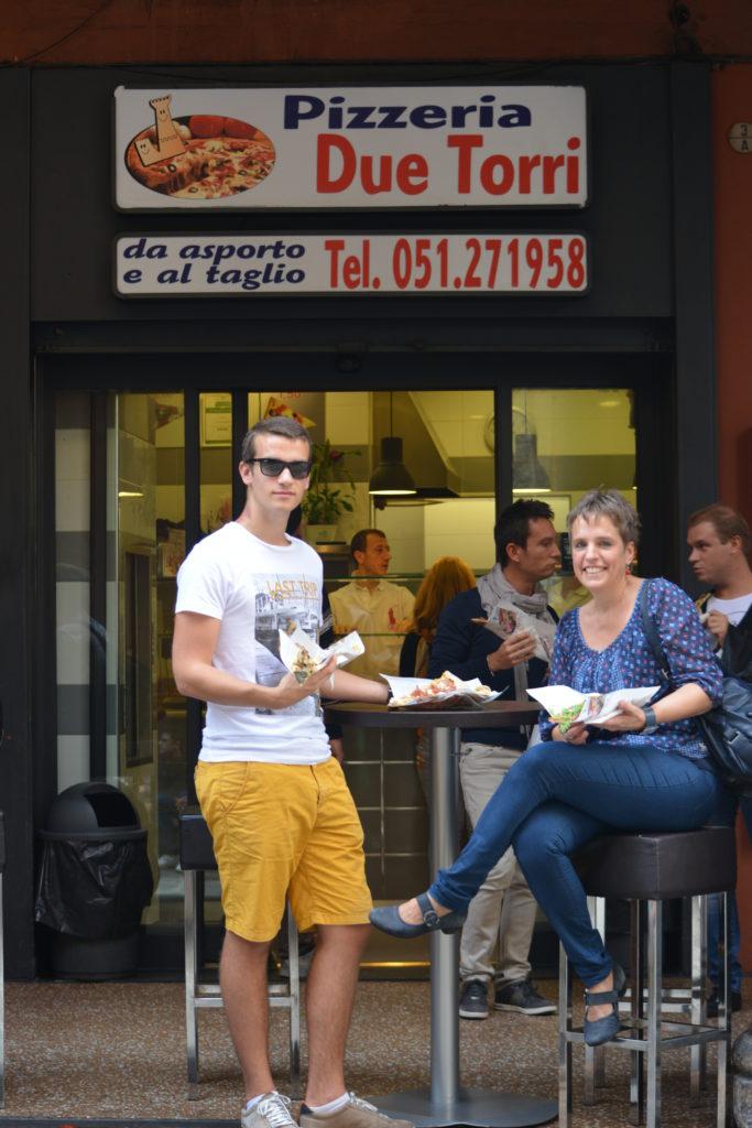 Bologna pizzeria due torri