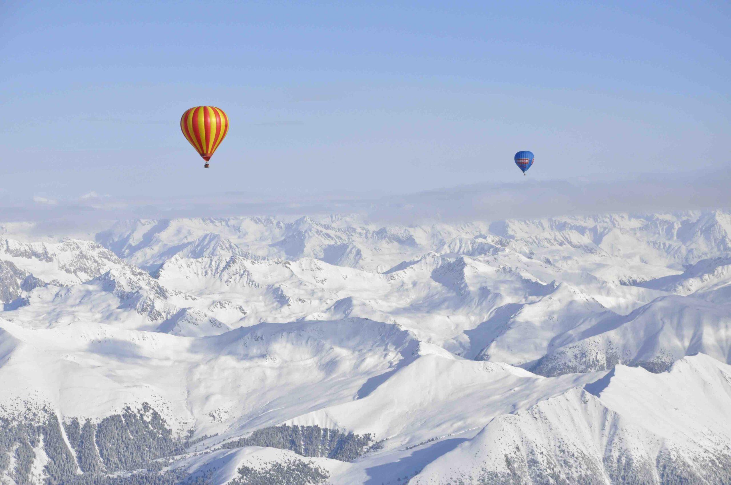 Luchtballon Dolomieten