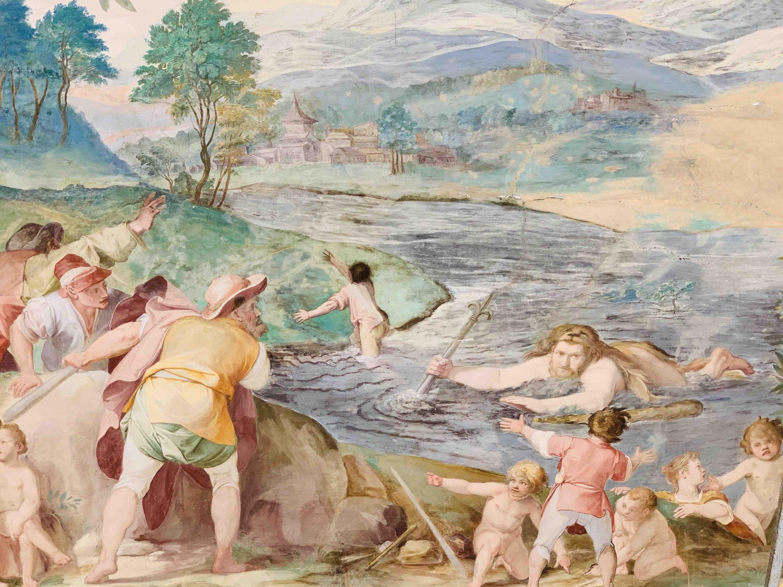 Caprarola Palazzo Farnese Lago di Vico