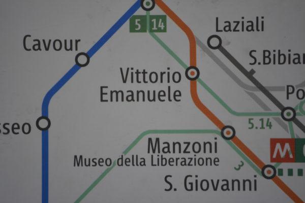 Straatnamen Italië