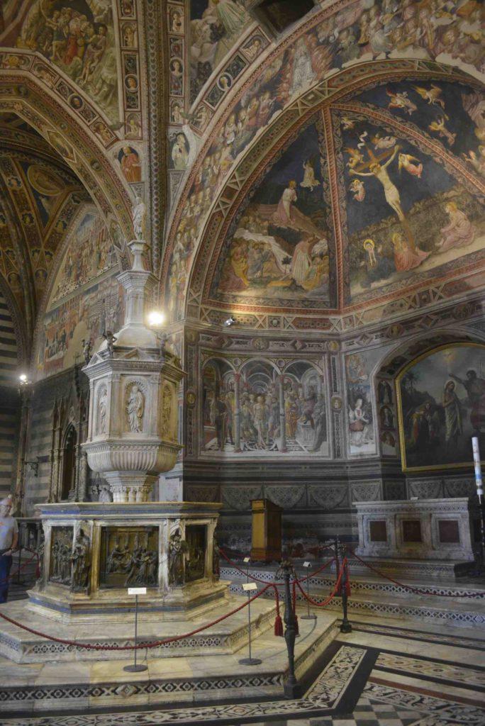 Siena Duomo doopkapel