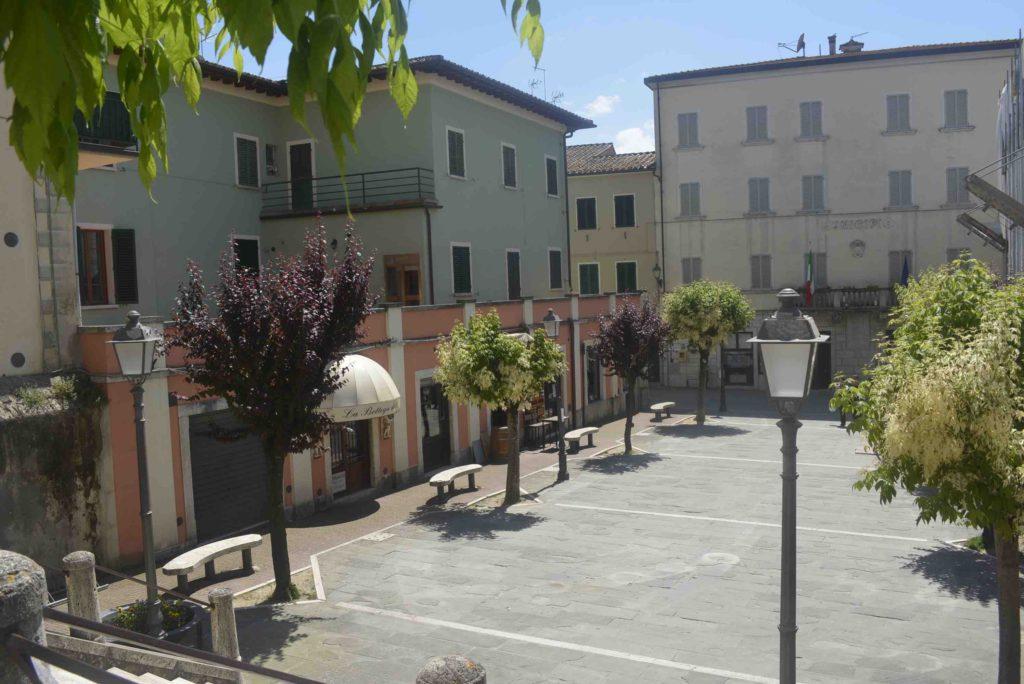 Asciano Piazza Garibaldi