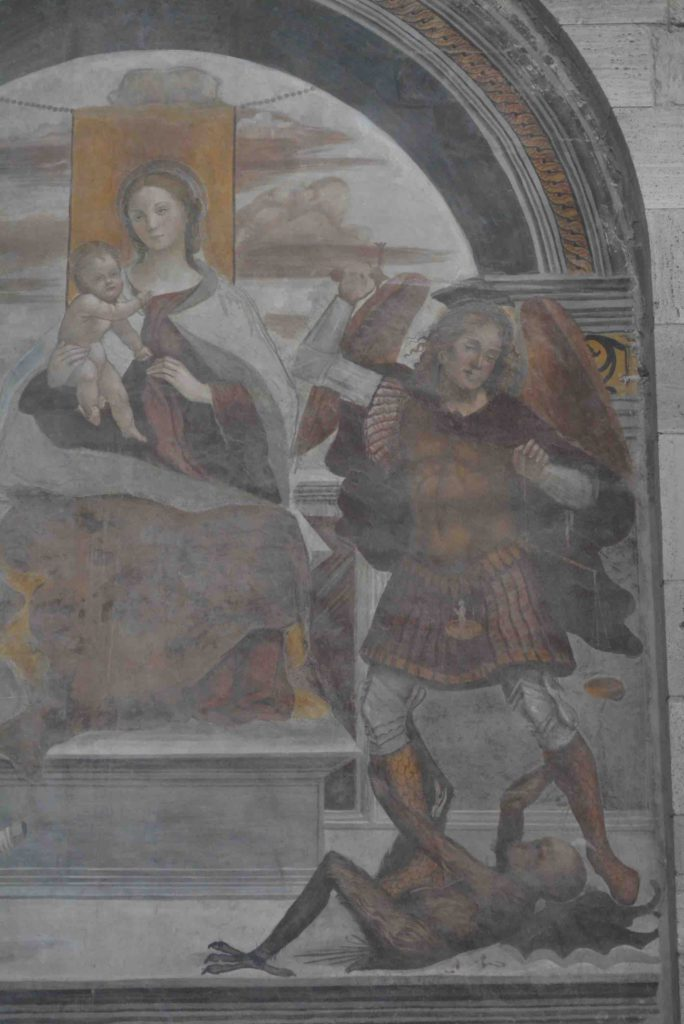 Asciano Basilica di Sant'Agata