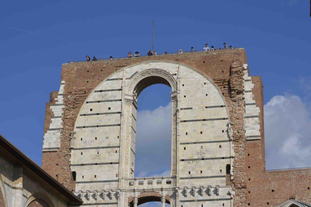 Siena - Facciatone