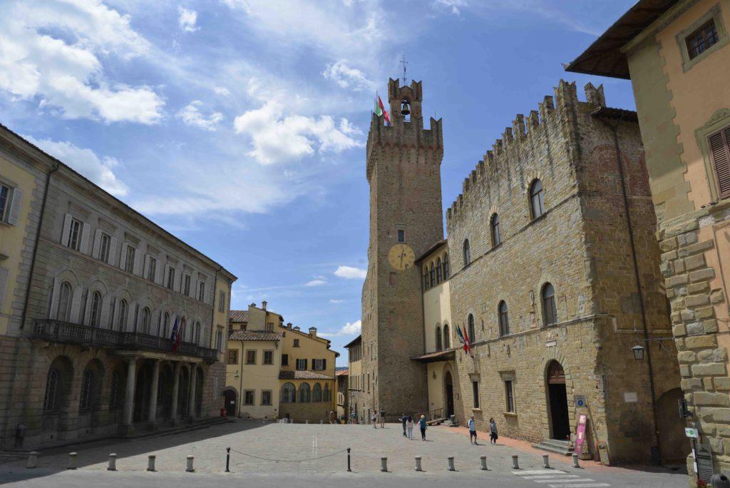 Arezzo Piazza Libertà