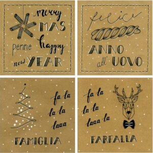 Wenskaarten kerst & nieuwjaar