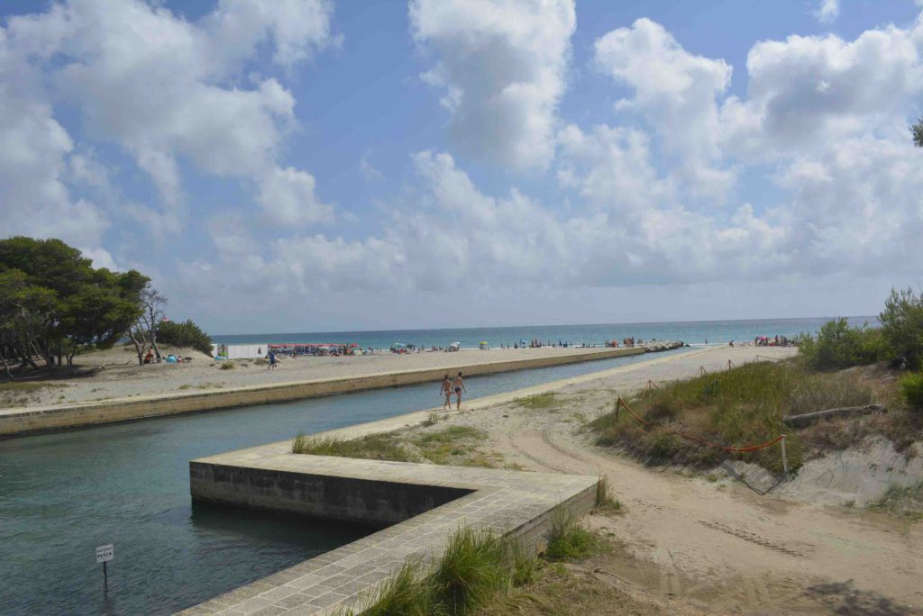 Salento Adriatische kust Laghi Alimini