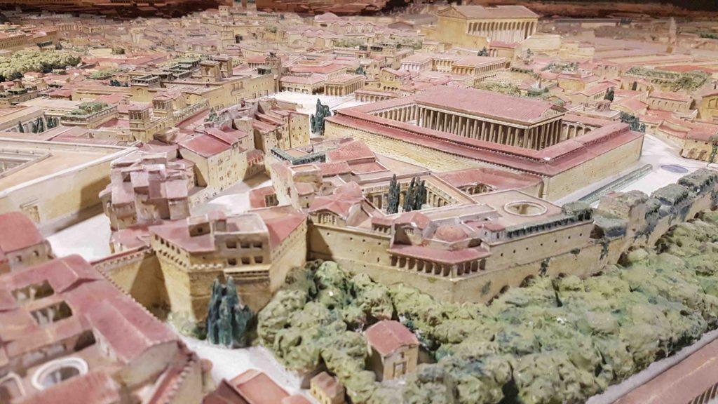 Maquette Rome