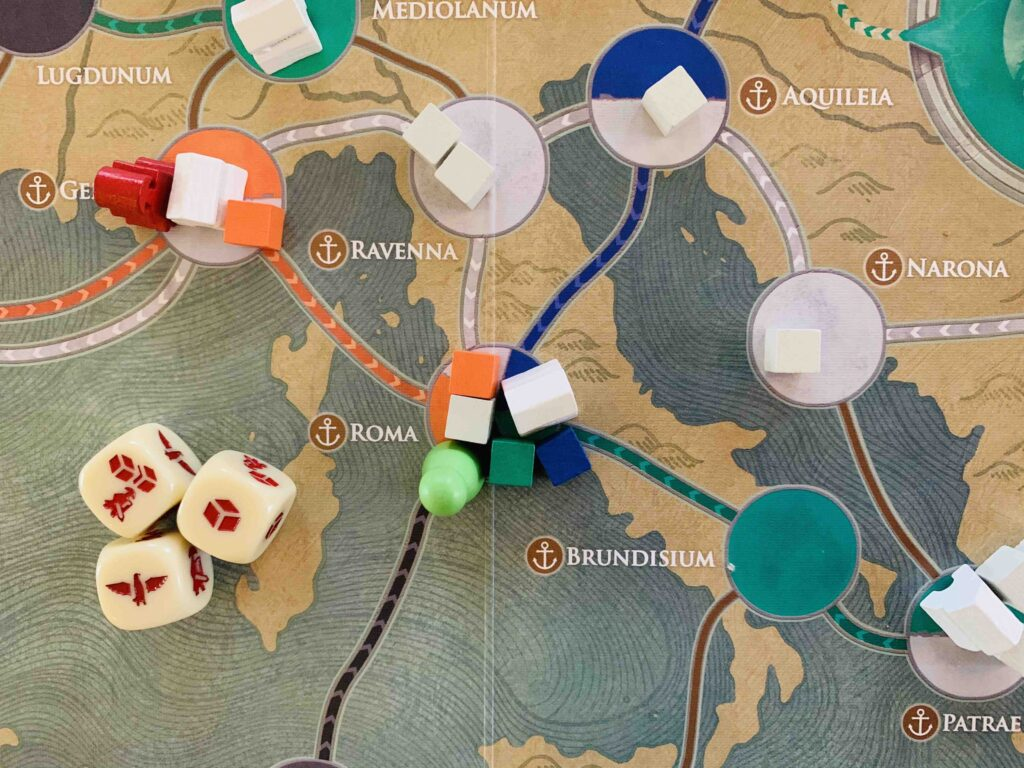 Pandemic Fall of Rome