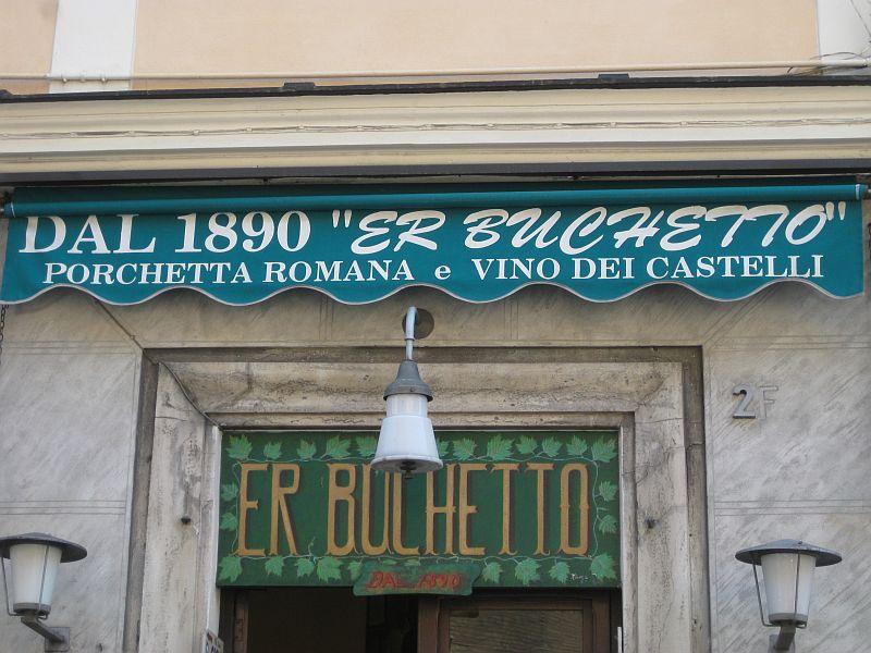 er buchetta Rome
