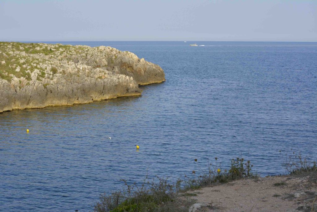 Salento Adriatische kust Porto Badisco