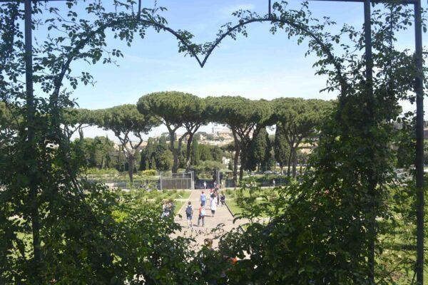 Rome rozentuin