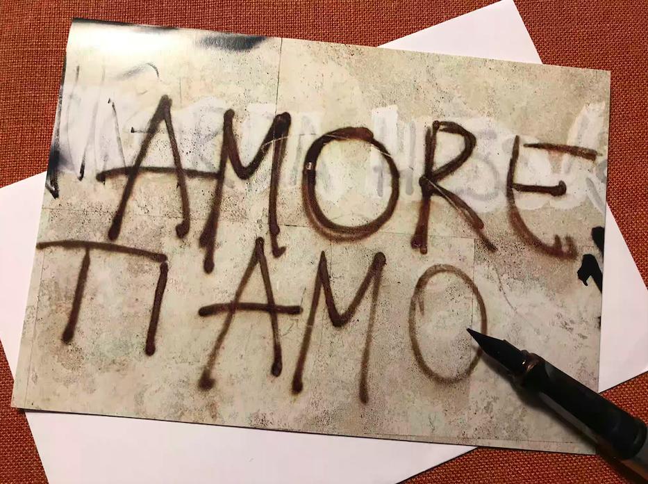 Valentijn- Italiaanse woorden over liefde