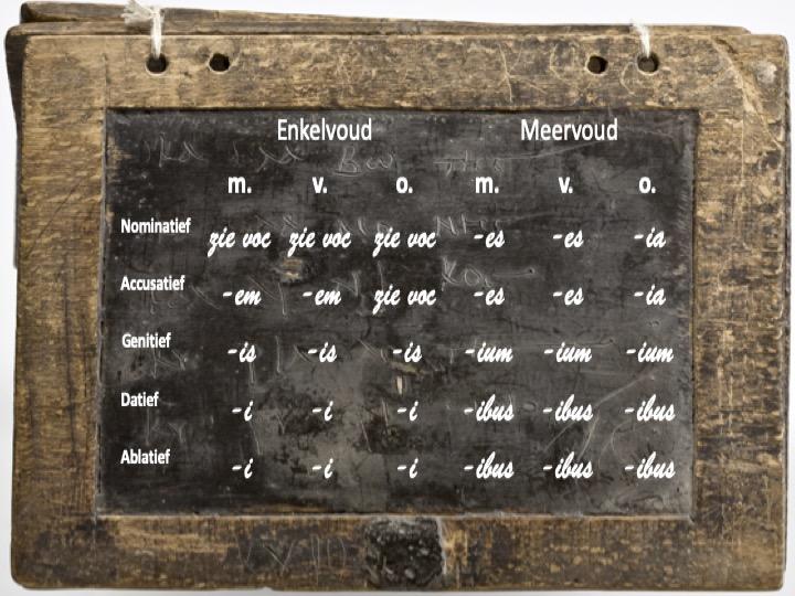 Adjectieven van de tweede klasse