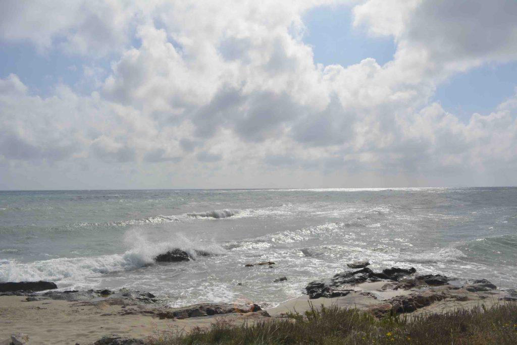 Salento Adriatische kust nabij Torre Specchia Ruggeri