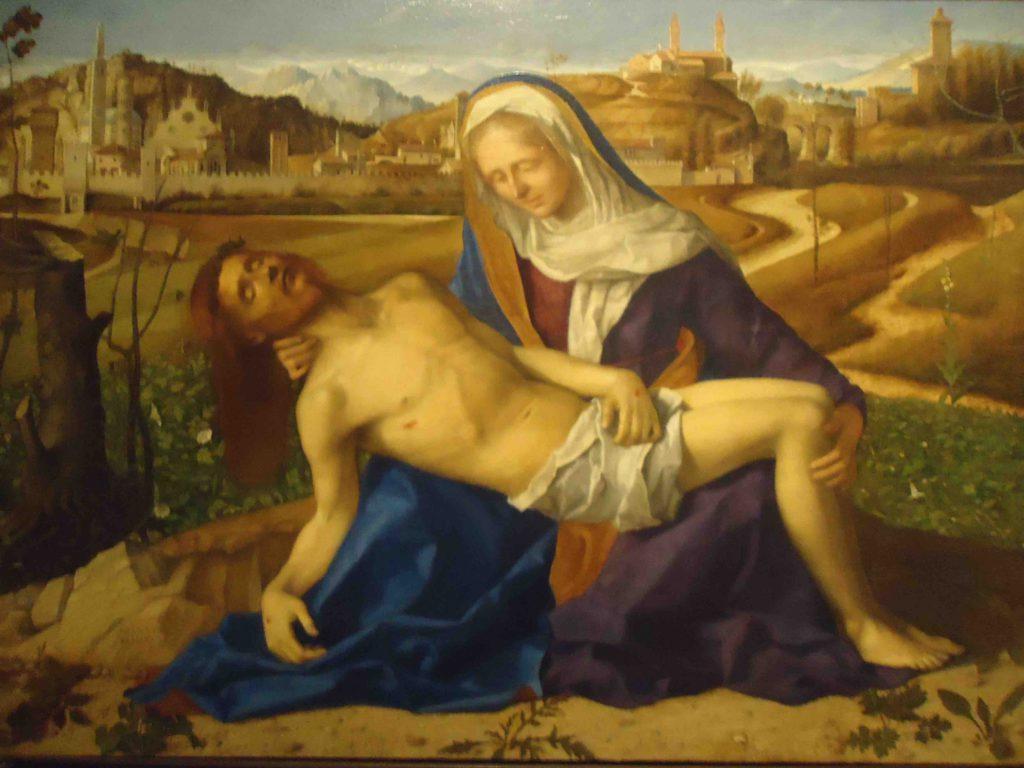 Venetië Galleria dell'Accademia - Pieta Bellini