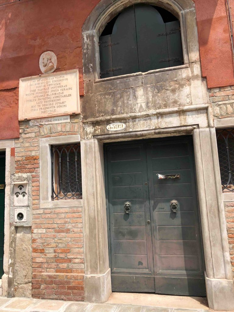 Venetië Casa Tintoretto
