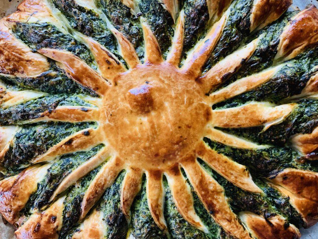 zonnetaart spinazie