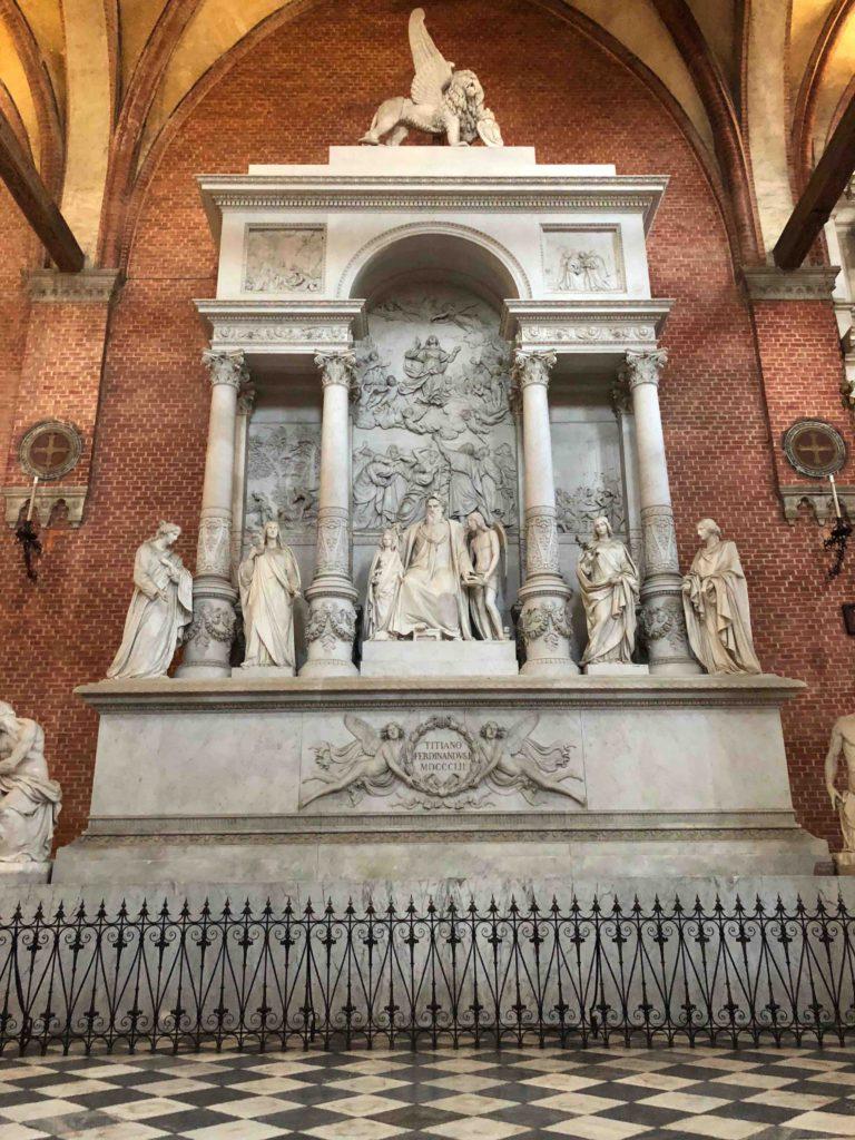 Venetië - Graf van Titiaan