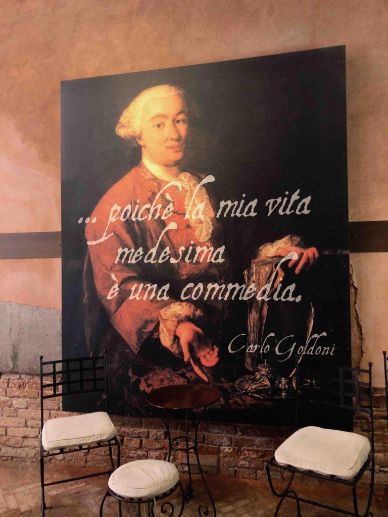 Venetië - Casa Goldoni