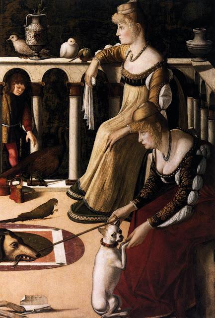 Venetië - le due dame veneziane
